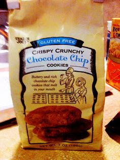 Trader Joes Crispy Crunchy Chocolate Chip Cookies | Gluten Free Katie