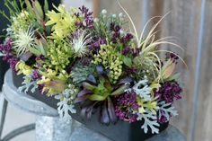 herbs+and+succulent+floral+arrangements   floral services with mainly locally grown flowers lots of succulents ...