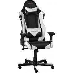 DXRacer Gamestoel & Bureaustoel - Racing - PU Leder - Zwart/Wit