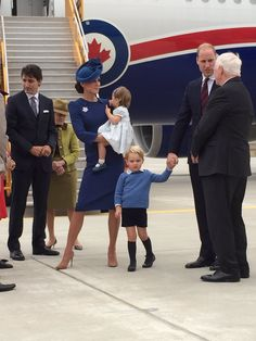 "Kensington Palace on Twitter: ""The Duke and Duchess with Prince George and Princess Charlotte have arrived in Canada to a warm welcome!"