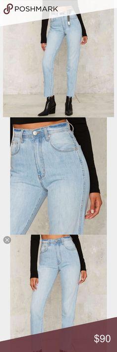 47cfaf9f9a1 Bnwt nasty gal zee gee high waisted jeans Bnwt Nasty Gal Jeans Size 24 Jeans ,