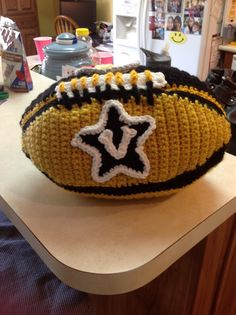 Ben's Crocheted Vandy Football