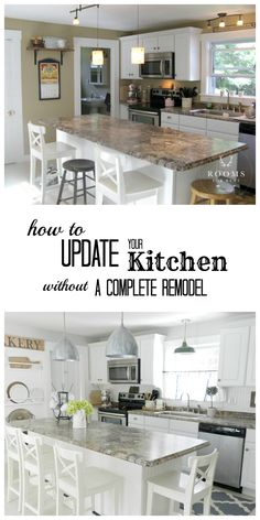 How to Update your kitchen without doing a complete remodel!