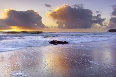 Rodeo Beach Reflections - Marin County, California by PatrickSmithPhotography, via Flickr