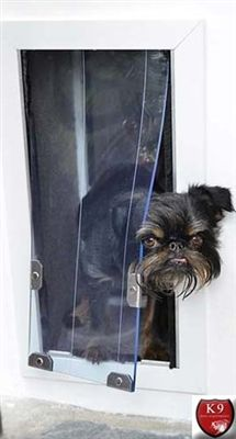 """The MaxSeal® Door Model is the premiere dog door on the market. The MaxSeal is designed to seal and insulate better than other pet door designs. The security is also unmatched when the 1/2"""" insulated security panel locks the door. http://www.k9dogequipment.com/MaxSeal-Insulated-Dog-Door-for-Doors-p/sb-maxseal-dm.htm"""