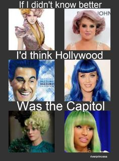 If I didn't know better I'd think Hollywood was the the Capitol.... lets start connecting the dots
