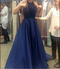 Royal Blue Prom Dress,Ball Gown Prom Dress,Beaded Bodice Prom Gown,Princess Prom Dresses,Sexy Evening Gowns,2016 New Fashion Evening Gown,Red Party Dress For Teens