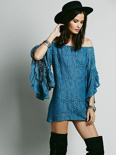 Free People Hopelessly Bardot Top, $198.00