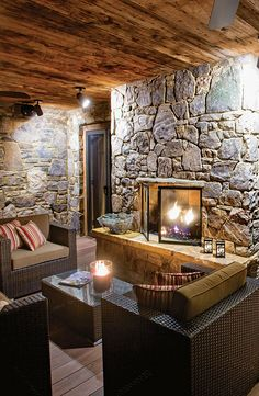 Cabin Interior Design, Interior And Exterior, Interior Ideas, Cabin  Interiors, Rustic Interiors