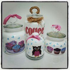 Cupcake jars ♥