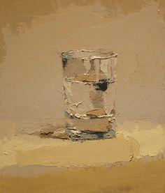 Brian Blackham, understated rich color, thick lush paint