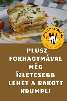 Mit eszik az ország? #krumpli #rakott Sandwiches, Food, Essen, Meals, Paninis, Yemek, Eten