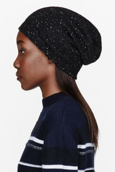 """A good slouchy beanie can save any bad hair day. This one's by Alexander Wang."" -Bee"