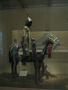 Ceremonial Armors for Man and Horse  Chinese, Qing dynasty, 18th century