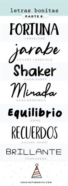 invitaciones tipos de letras Thing 1, Arabic Calligraphy, Typography, Party Ideas, Illustrations, Group, Board, Invitations, Fonts