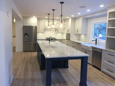 What do you think about this custom kitchen renovation? Full House, My House, Calgary, Luxury Homes, Kitchens, Sweet Home, Real Estate, Construction, Cool Stuff