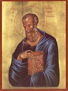 Holy Apostle and Evangelist Joh/n the Theologian / Св. апостол Иоанн Богослов (May 8/21)