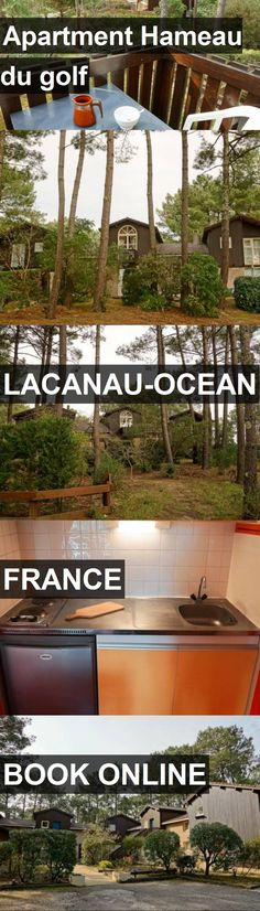 Apartment Hameau du golf in Lacanau-Ocean, France. For more information, photos, reviews and best prices please follow the link. #France #Lacanau-Ocean #travel #vacation #apartment