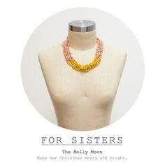 The @31 Bits Giving Guide // The Molly Moon necklace ….because your sister keeps borrowing yours ;) #31bits #giftsthatgive