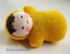 Waldorf Doll GermanDolls Golden Pocket doll  by germandolls, $14.95