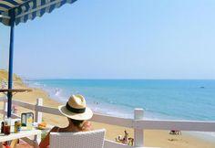 Playa Fuente del Gallo (Conil de la Frontera, Cádiz), by @Estampas_Cadiz