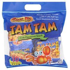 Snek Ku Tam Tam Crab Flavoured Snacks pct X Gluten Free Brands, Chewy Granola Bars, Cream Biscuits, Vegetable Protein, Snack Recipes, Snacks, Chips, Breakfast, Beverages