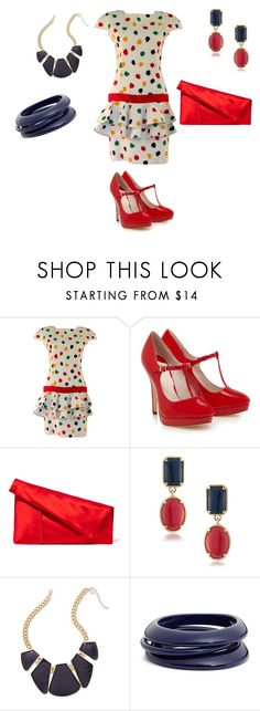 """Born In The 80's"" by kerashawn ❤ liked on Polyvore featuring Guy Laroche, Diane Von Furstenberg, 1st & Gorgeous by Carolee, Thalia Sodi and ZENZii"