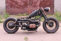 Dniepr based Bobber built in Ukraine #bobber #dniepr #customdniepr #custombike #ridesharing #bobberculture