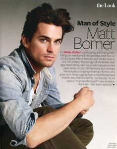 Love this show! Matt Bomer does such a great job with his character.