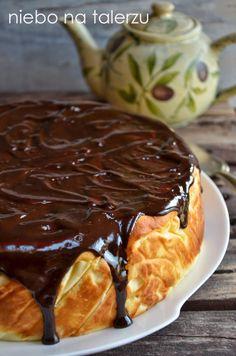 Bardzo puszysty sernik waniliowy - niebo na talerzu Polish Desserts, Polish Recipes, Cookie Desserts, Baking Recipes, Cake Recipes, Dessert Recipes, Delicious Desserts, Yummy Food, Different Cakes