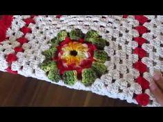Lindo Trilho de Mesa de Crochê para o Natal - YouTube