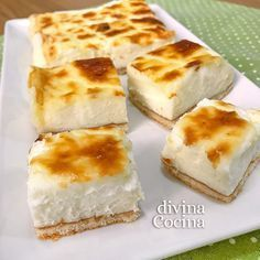 You searched for patatas al horno y beikon - Divina Cocina Just Desserts, Dessert Recipes, Cooking Time, Cooking Recipes, Queso Cheese, Cheese Pies, Easy Cheese, Brunch, Cake Shop