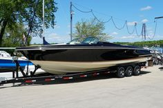 Options Include: Black Pearl Metallic Painted Hull, Twin Mercruiser 6.2L, Active Trim, Axius Joystick, Selectable Exhaust, Heritage Trim Edition, Bow Docking Lights, Bow & Cockpit Covers, Garmin 741XS GPS, Sirius Satellite Radio, Underwater Lights, Windlass Anchor Delavan Wisconsin, Boat Sales, Underwater Lights, Chris Craft, Boats For Sale, Anchor, Twin, Metallic, Product Launch