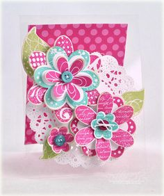 i love flowers - want to use as scrapbook page