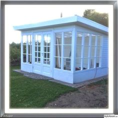 garden shed greenhouse Lean To Greenhouse, Greenhouse Plans, Greenhouse Wedding, Outdoor Rooms, Outdoor Living, Commercial Greenhouse, Pergola, She Sheds, Garden Studio