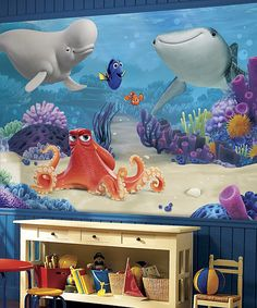 Beau Look At This Finding Dory Wall Decal Mural On #zulily Today!