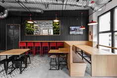 Get some design inspiration from these walls covered in black corrugated steel