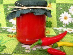 Mézeskalács konyha: Paprikakrém Preserves, Canning, Tableware, Food, Red Peppers, Preserve, Dinnerware, Tablewares, Essen