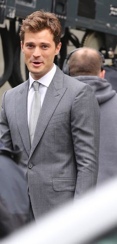 Jamie Dornan reshoot for Fifty Shades of Grey | October 2014