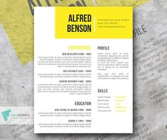 125 Best Free Resume Templates For Word Images In 2019 Free Resume