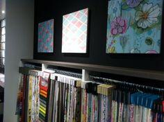 Ruim assortiment gordijnstoffen. Eijffinger, Arte, Hooked on Walls, Vadain, A House of Happiness, Casamance, Sanderson.
