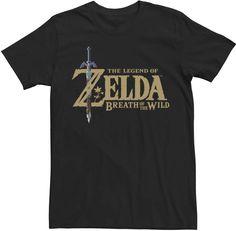 Men's Legend of Zelda Logo Tee