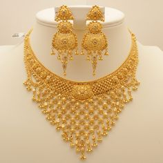 Image result for gold necklace set