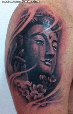 Tatuaje hecho por Andrés, de Barcelona (España). Si quieres ponerte en contacto con él para un tatuaje o ver más trabajos suyos visita su perfil: http://www.zonatattoos.com/andrewflaks Si quieres ver más tatuajes de budas visita este otro enlace: http://www.zonatattoos.com/tag/123/tatuajes-de-budas #Tatuajes #Tattoos #Ink #Budas