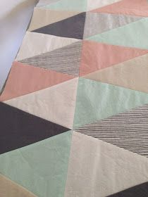 When I was asked to make my Isosceles on Point quilt , I was very helpfully pointed towards THIS  tutorial/pattern.  This was the ...