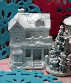 Make a Christmas Village