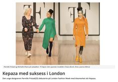 Tekstilforum wrote about Kepaza and our fight for diversity! London Fashion, Diversity, Catwalk, Harem Pants, Dress Up, Models, Women, Templates, Harem Jeans