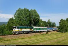 RailPictures.Net Photo: 754 045 3 Ceske Drahy CD 754 at Nova Pec, Czech Republic by Jaroslav Dvorak