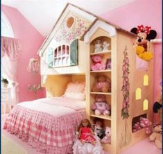 Moveis Para Quarto Nightstand Luxury Direct Sales Princess House Bunk Bed With Book Cabinet For Child Room Furniture Made In Cool Loft Beds, Bunk Beds Small Room, Bunk Beds With Stairs, Kids Bunk Beds, Small Rooms, Small Spaces, Sharing Bed, Custom Mattress, Triple Bunk Beds
