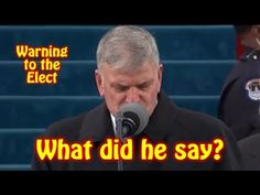 Shocking: Did you see the Prayer at the Inauguration? Warning to all Christians - YouTube